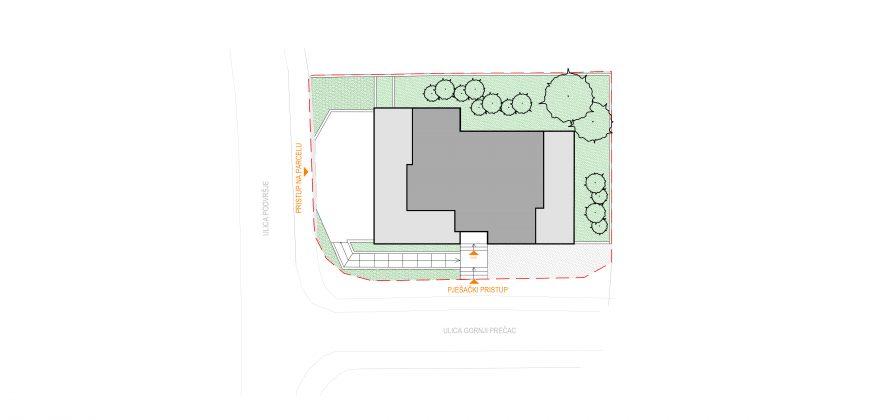 Maksimir – NOVO *150m2* / 3-spavaće sobe,Vrt 140m2, Garaža, VPM